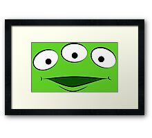 Toy Story Alien - Smile Framed Print