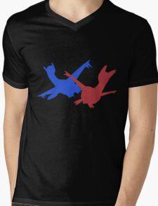 Latias & Latios Mens V-Neck T-Shirt