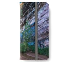 Coyote Gulch Sunrise - Utah iPhone Wallet/Case/Skin