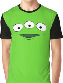 Toy Story Alien - Smile Graphic T-Shirt