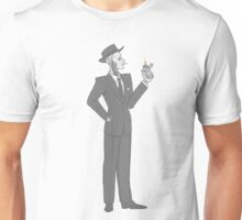 Nick Valentine (gray) Unisex T-Shirt