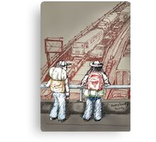 Rush Hour Parking, Too Canvas Print