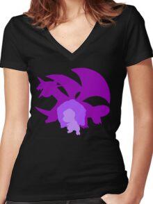 Salamence Women's Fitted V-Neck T-Shirt