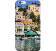 Houses on the rocks iPhone Case/Skin