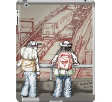 Rush Hour Parking, Too iPad Case/Skin