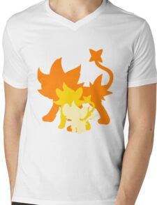 Luxray Mens V-Neck T-Shirt