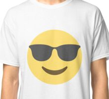 Smiling Face With Sunglasses Emoji Classic T-Shirt