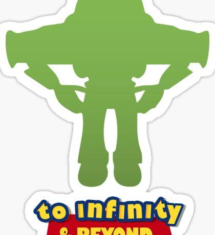 Buzz Lightyear: To Infinity & Beyond - Coloured Sticker