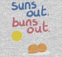 Sun's out, buns out Kids Clothes