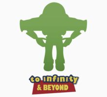 Buzz Lightyear: To Infinity & Beyond - Coloured Baby Tee
