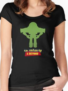 Buzz Lightyear: To Infinity & Beyond - Coloured Women's Fitted Scoop T-Shirt
