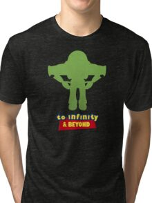 Buzz Lightyear: To Infinity & Beyond - Coloured Tri-blend T-Shirt
