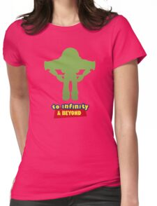 Buzz Lightyear: To Infinity & Beyond - Coloured Womens Fitted T-Shirt