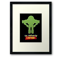 Buzz Lightyear: To Infinity & Beyond - Coloured Framed Print