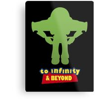 Buzz Lightyear: To Infinity & Beyond - Coloured Metal Print