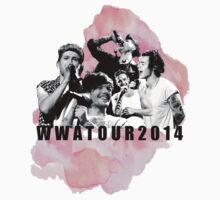 Where We Are Tour PINK by 2bananas4aeuro
