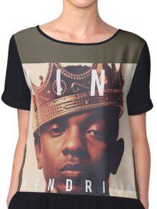King Kendrick Lamar Chiffon Top