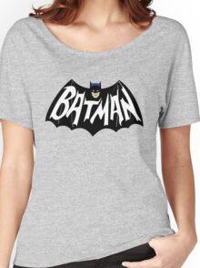 Old Batman Logo Women's Relaxed Fit T-Shirt