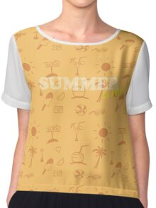 Summer is here! Chiffon Top