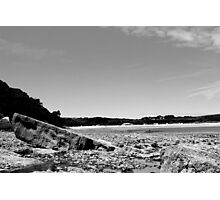 Oxwich Rock Photographic Print