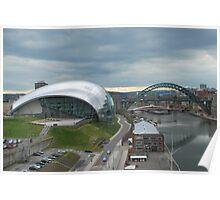 Newcastle upon Tyne Poster