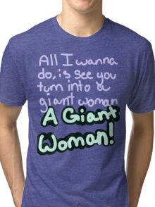 Steven Universe Opal Giant Woman Tri-blend T-Shirt