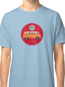 VW Volkswagen Camper Van T-Shirt, Kombi Transporter Sticker Classic T-Shirt