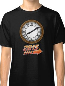 Back to the Future Clock 2015 Classic T-Shirt