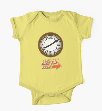 Back to the Future Clock 2015 One Piece - Short Sleeve