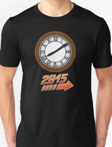 Back to the Future Clock 2015 Unisex T-Shirt
