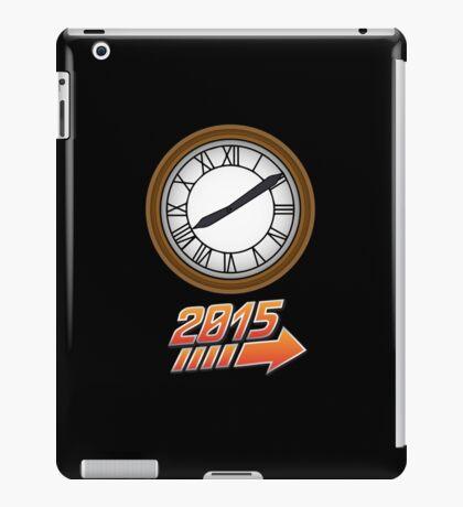 Back to the Future Clock 2015 iPad Case/Skin