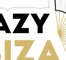 Crazy Ibiza Loco Mia Sticker