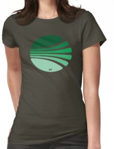 Circle of lines lovely T-shirt Womens Fitted T-Shirt