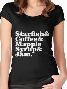 Starfish & Coffee Prince Women's Fitted Scoop T-Shirt