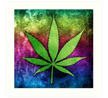 Pot Leaf Art Print