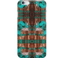 """Black and Blue Abstract"" iPhone Case/Skin"