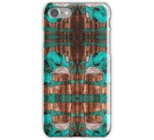 """""""Black and Blue Abstract"""" iPhone Case/Skin"""