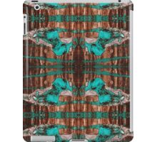 """""""Black and Blue Abstract"""" iPad Case/Skin"""