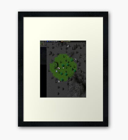 Total Annihilation In-Game 1 Framed Print