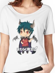 chibi devil is a part timer  Women's Relaxed Fit T-Shirt