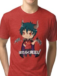 chibi devil is a part timer  Tri-blend T-Shirt