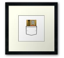 Zelda - NES Pocket Series Framed Print