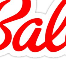 BALLY Sticker