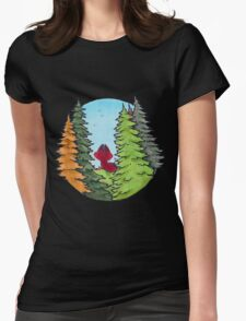 Little Foxy Womens Fitted T-Shirt