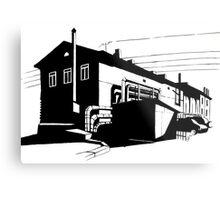Industrial 1 Metal Print