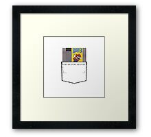 Mario 3 - NES Pocket Series Framed Print