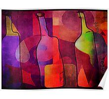 Three Bottle Amigos  Poster