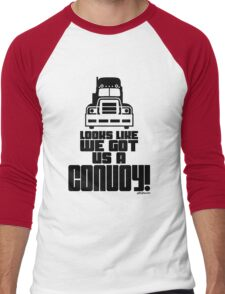 Looks Like We Got Us A Convoy! Men's Baseball ¾ T-Shirt
