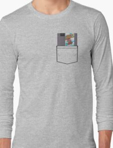 Mario 2 - NES Pocket Series Long Sleeve T-Shirt