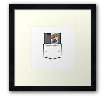 Mario 2 - NES Pocket Series Framed Print